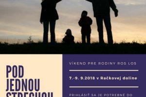 Stretnutie rodín – pozvánka