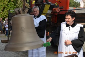 Posviacka zvonov v chorvátskom Iloku