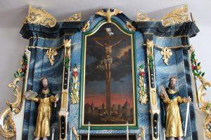 Posvätili reštaurovaný oltár