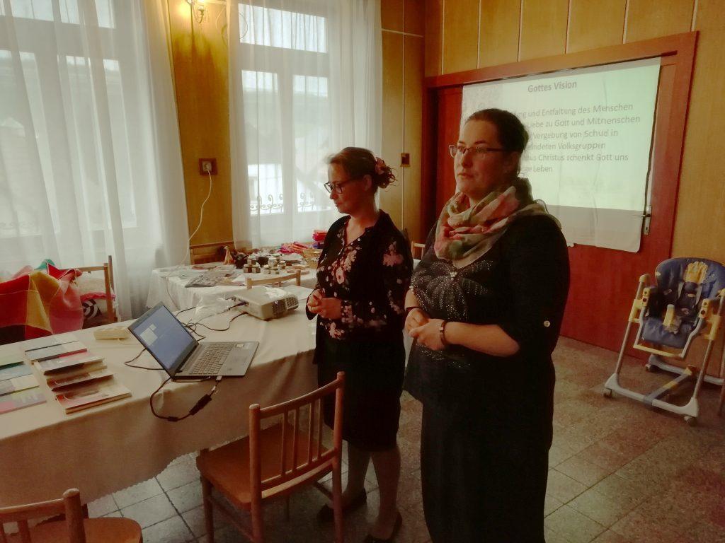 Karoline Fust na schôdzi Združenia evanjelických duchovných vo Važci